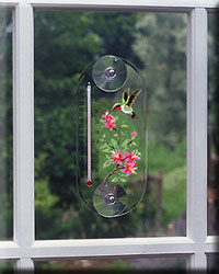 Hummingbird Azela Window Thermometer