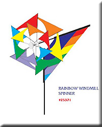 Rainbow Windmill Spinner