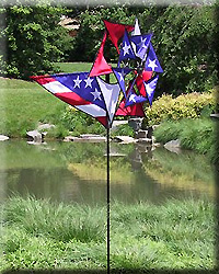 Patriotic Windmill Spinner