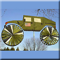 Military Vehicle Spinner